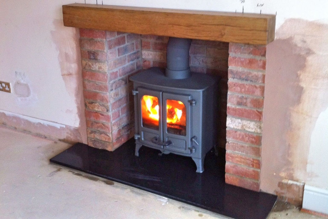 Seer Green Cottage Style Fireplace