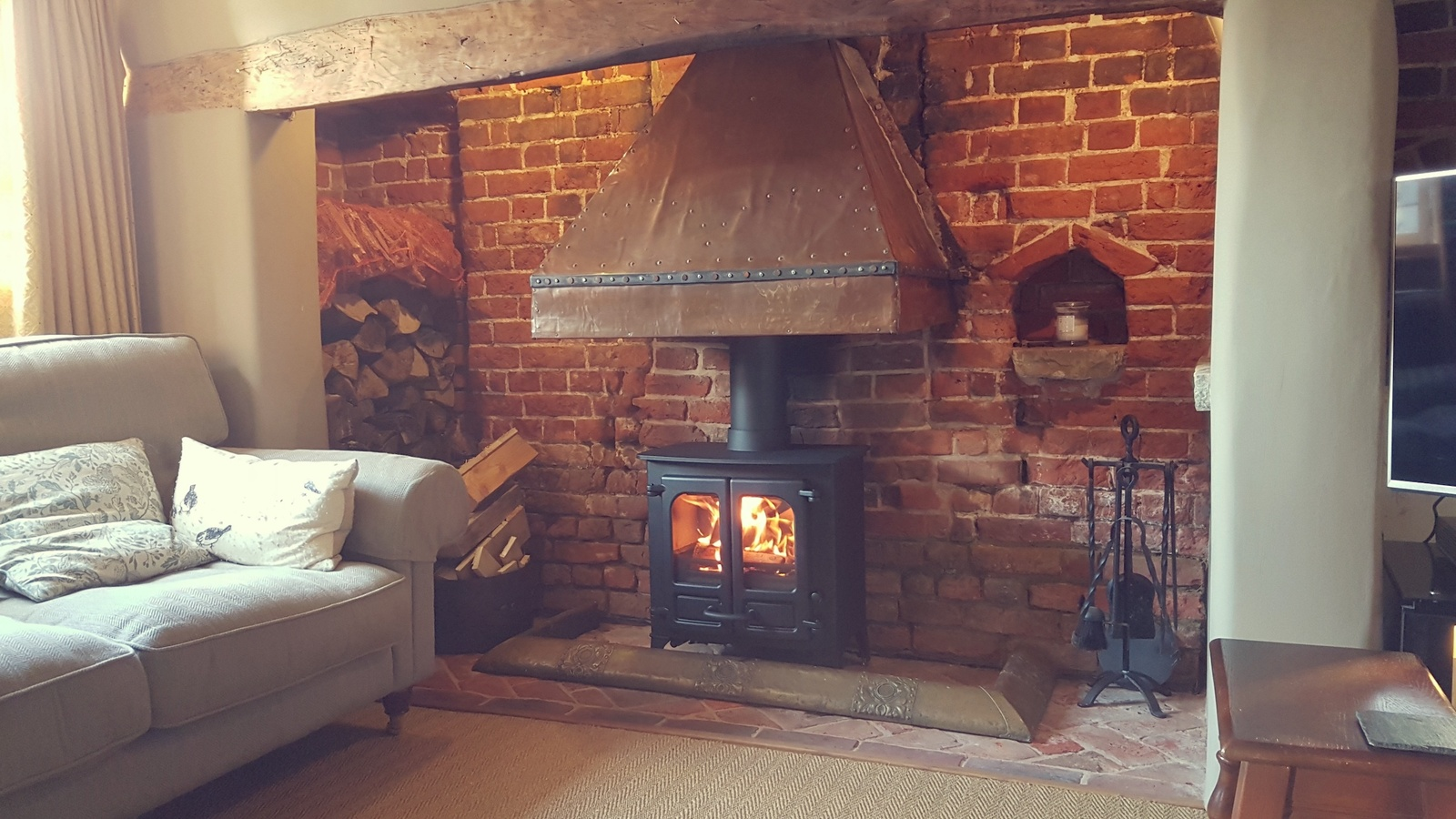 The Charnwood Island 1 at 'Copper Cottage' in Buckinghamshire