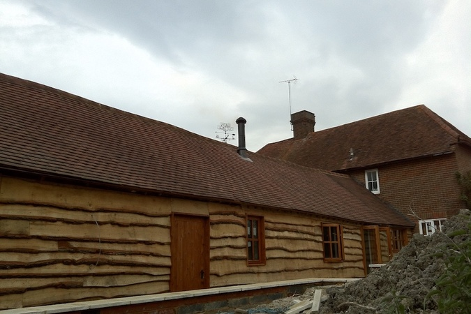 Twin Wall Flue to a listed barn conversion in Horsenden