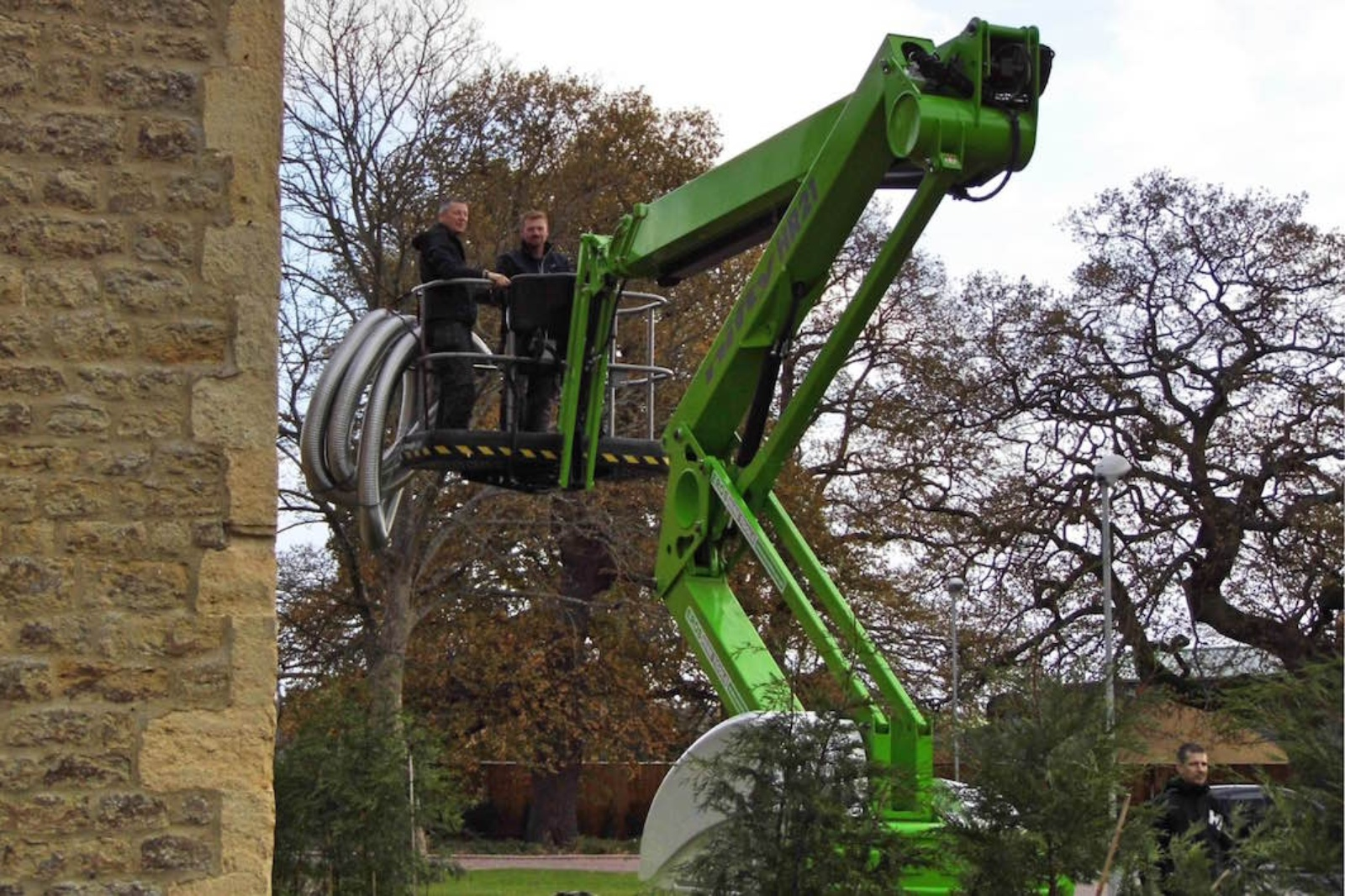 Our engineers are trained to use specialist access equipment.