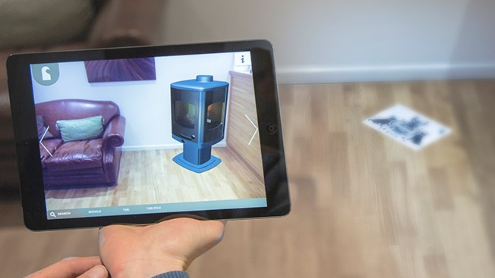 Charnwood 'Live Fire' design tool can be used during our home survey