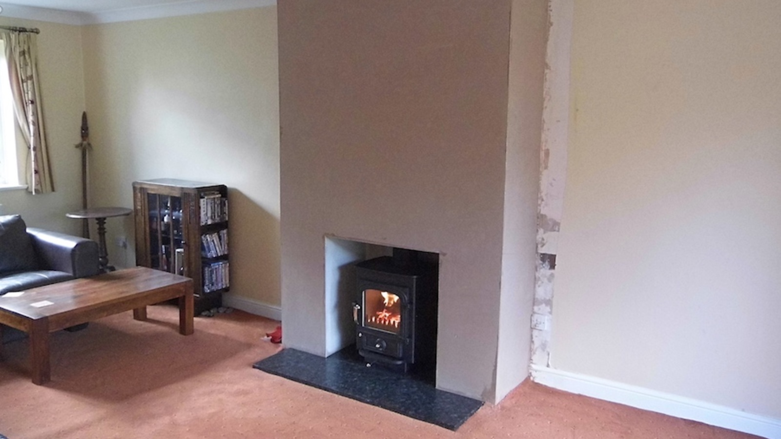 Faux Chimney Breast