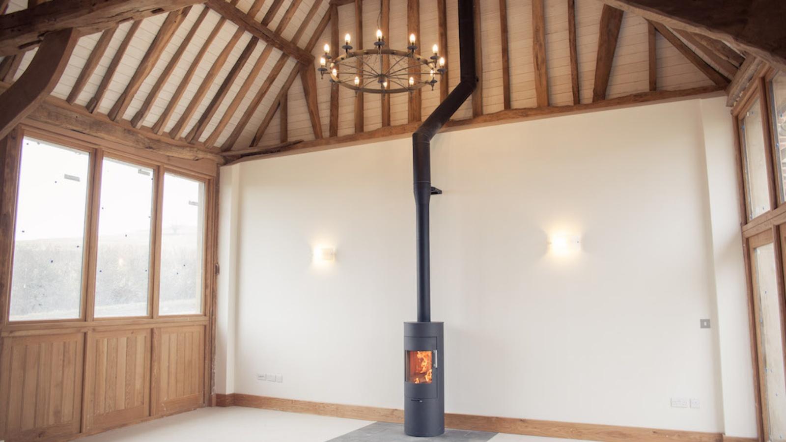Rais Viva 120 'Classic' to a listed barn conversion in Quainton, Buckinghamshire.