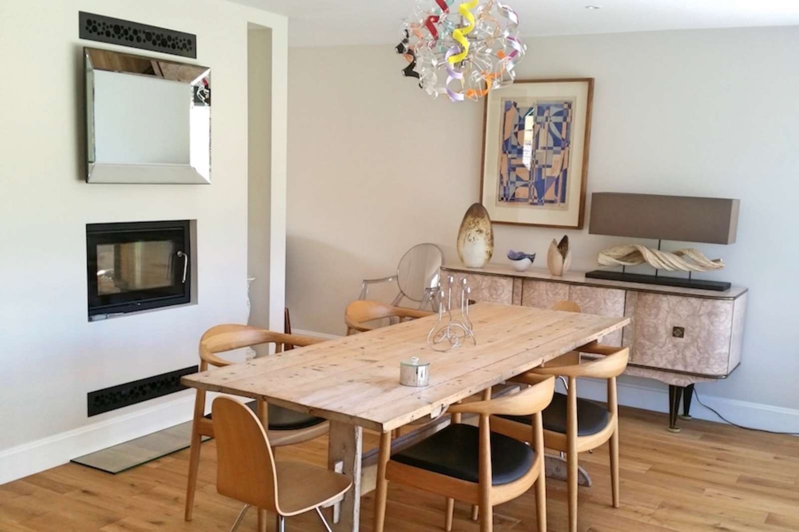 The new homeowners complete the look with some beautiful finishing touches.