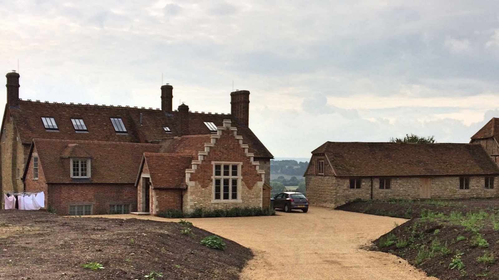 A property on the Waddesdon Estate having benefited from a beautiful renovation