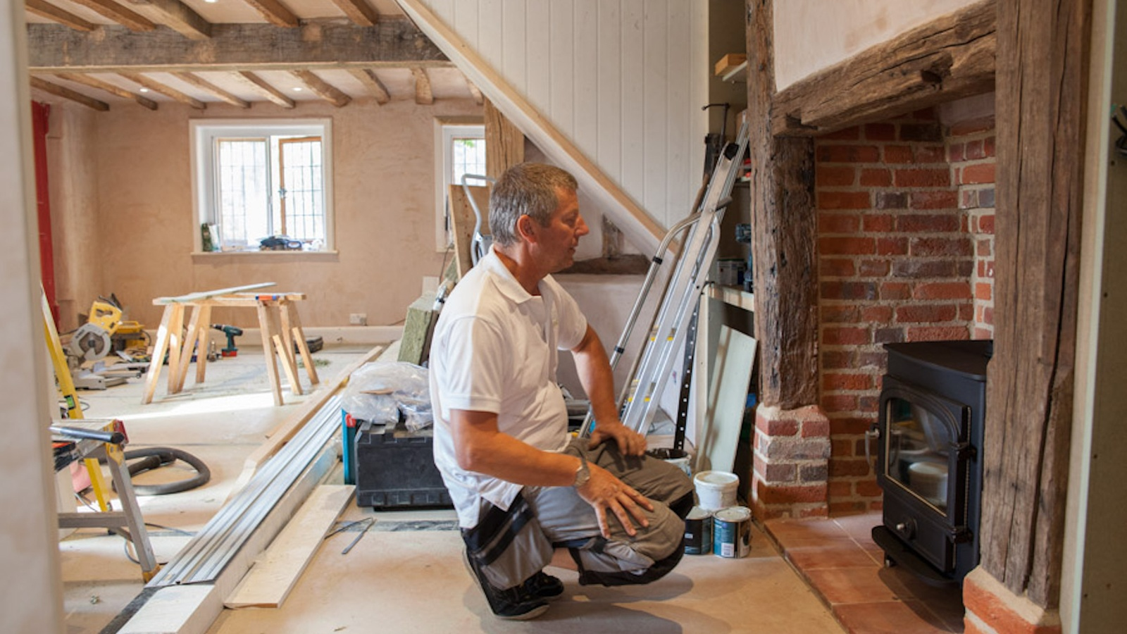 Installation a Clearview Vision 500 as part of a listed building renovation project