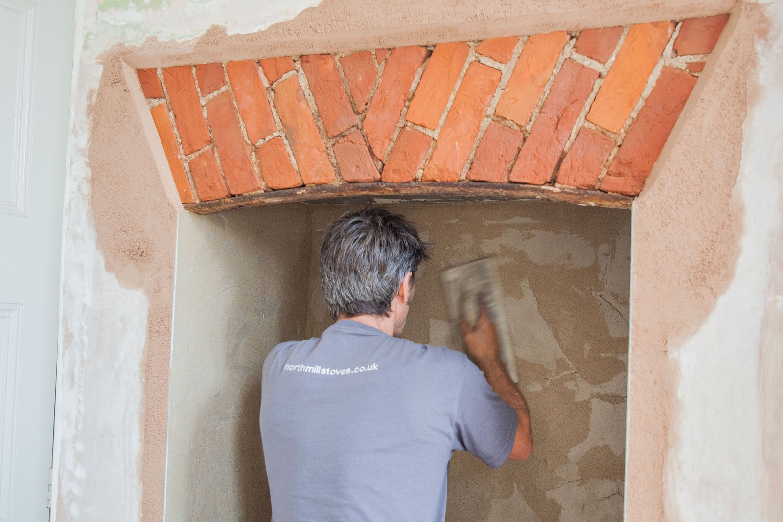 Exposing original fireplace features can lead to some exciting finds!