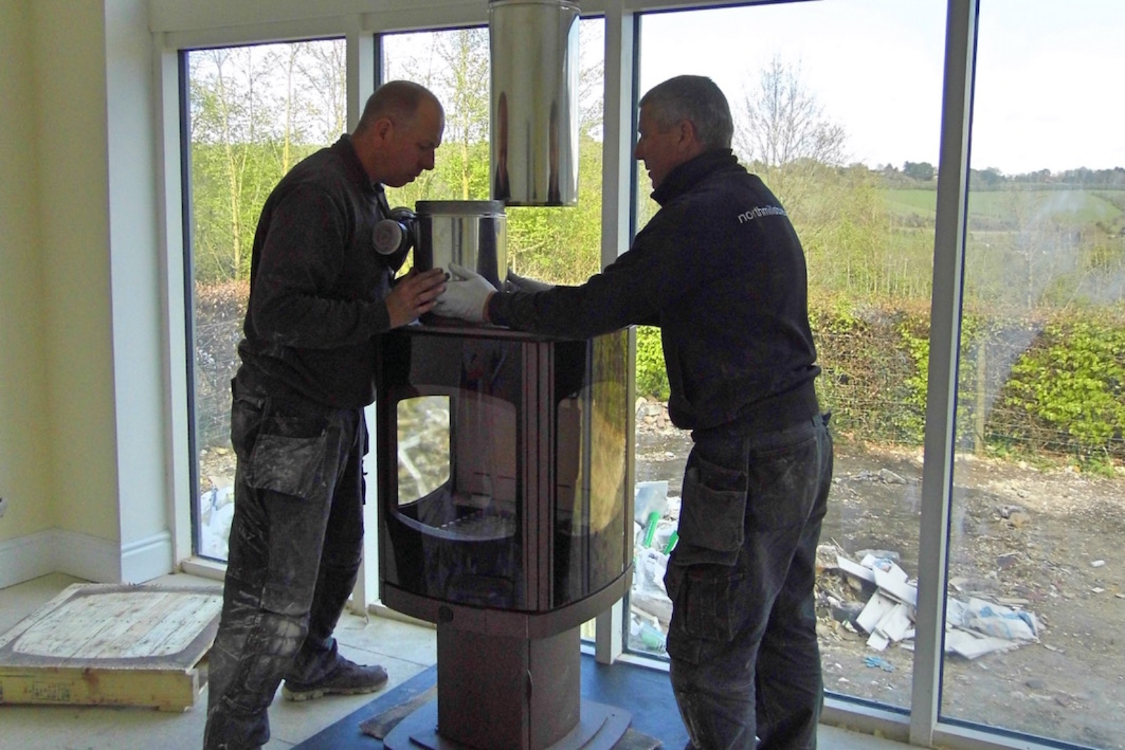 Careful planning makes installation straightforward for our experienced engineers