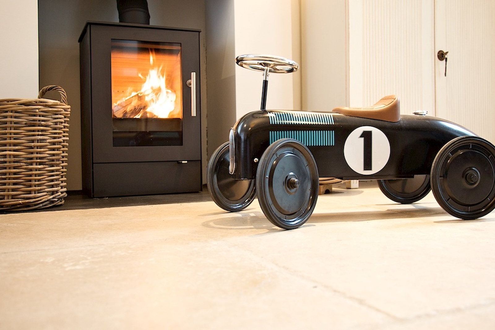 Rais Q-Tee 65 in The Old Vicarage Kitchen
