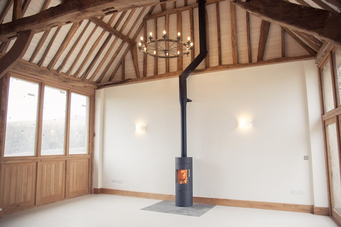 Rais Viva 120 'Classic' to a listed barn conversion in Quainton, Buckinghamshire.