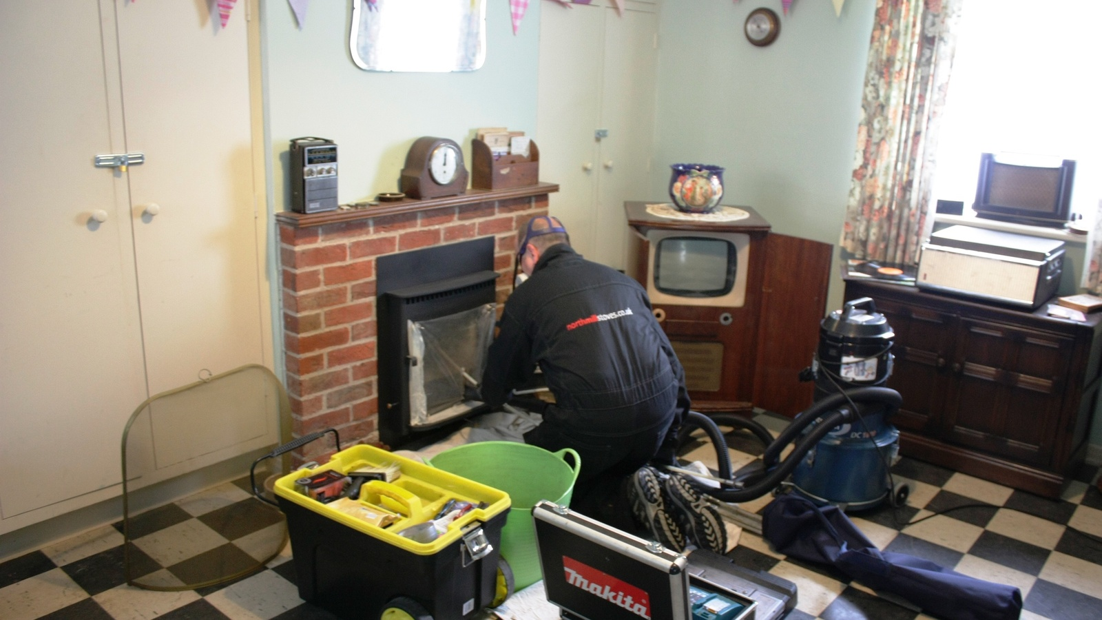 Your stove should be swept and serviced at least once a year